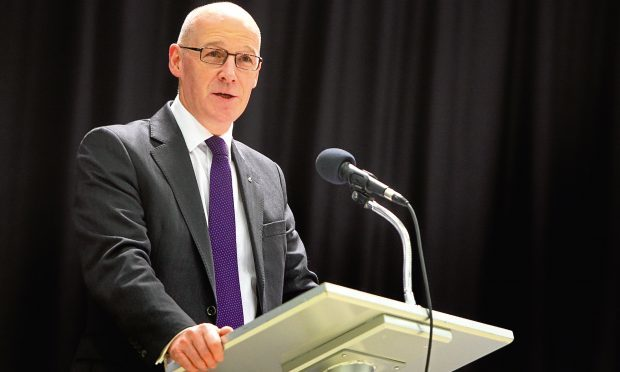 John Swinney (Courier, DC Thomson)