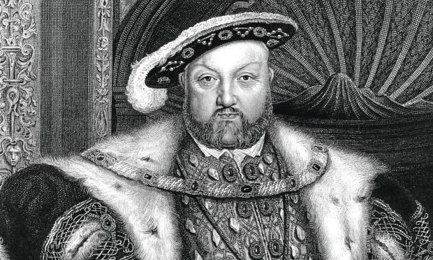 A portrait of King Henry VIII (Hulton Archive/Getty Images)