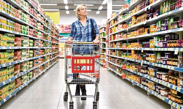 Supermarket shopping (Getty Images)