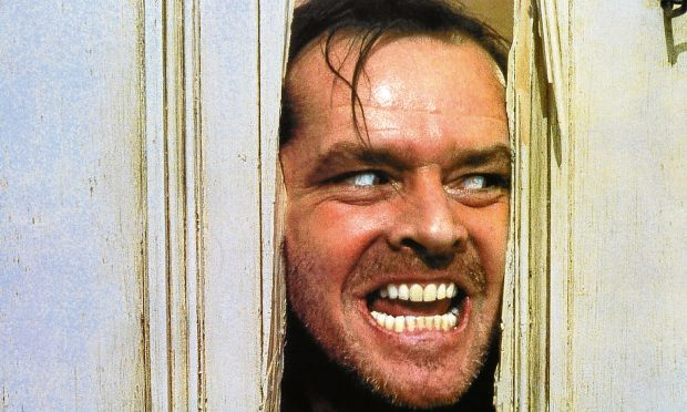 Jack Nicholson in The Shining, 1980 (Allstar/WARNER BROS.)