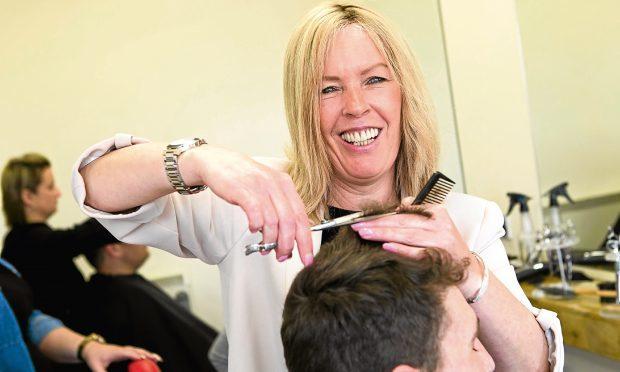 Hairdresser Jacqueline Gardner (Andrew Cawley / DC Thomson)