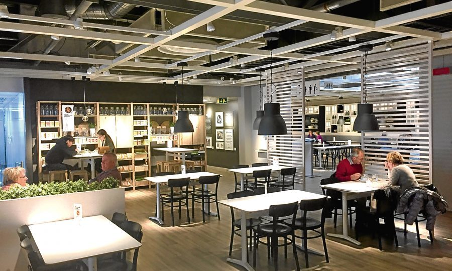 restaurant review ikea edinburgh sunday post. Black Bedroom Furniture Sets. Home Design Ideas