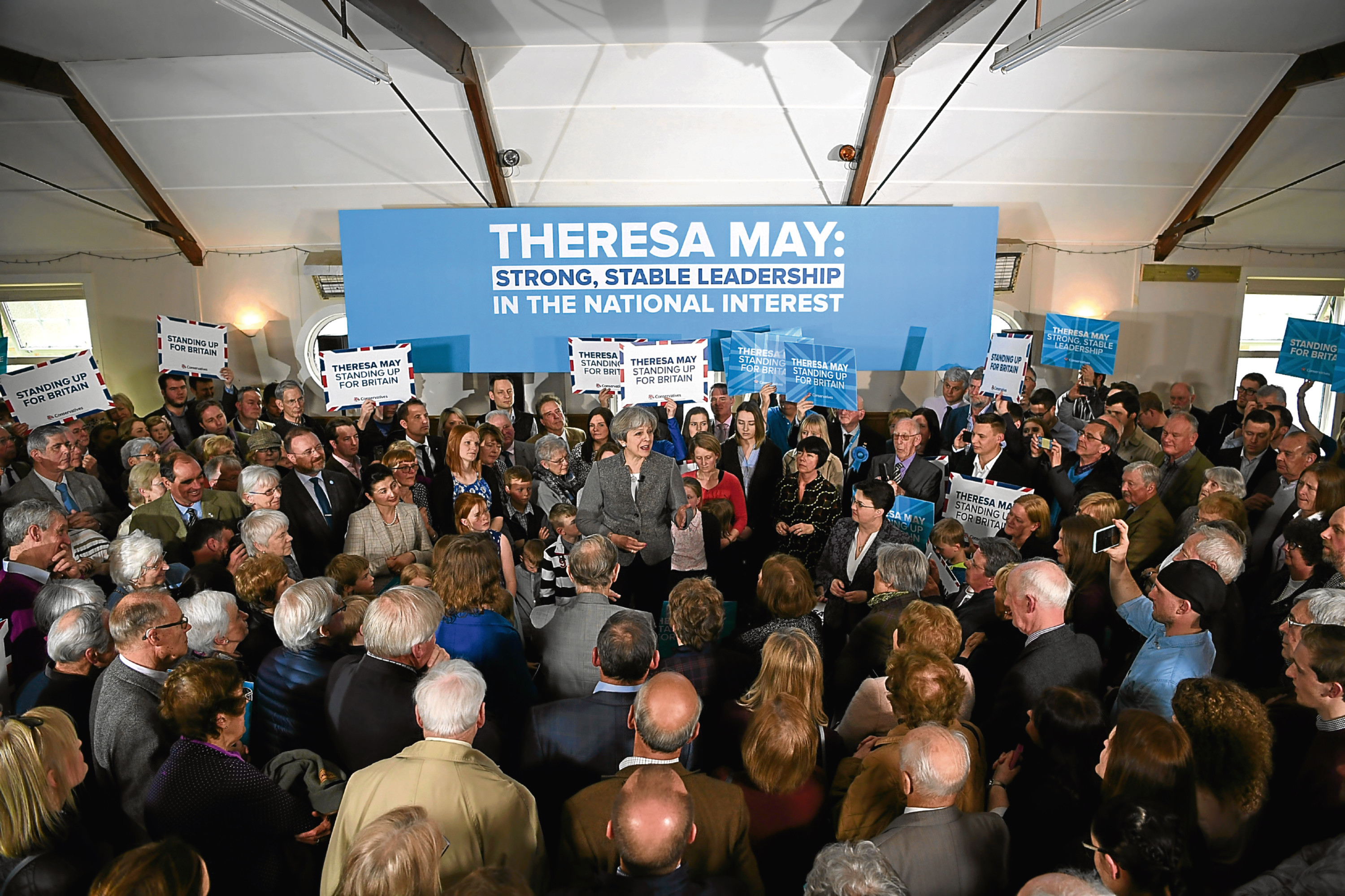 Image result for Theresa May rallies