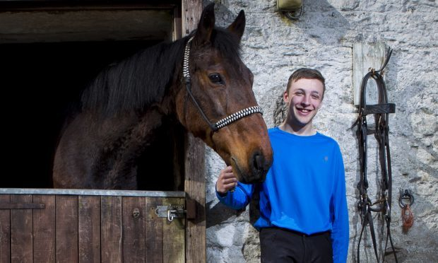 Timo Condie has turned his life around on horseback (Andrew Cawley / DC Thomson)