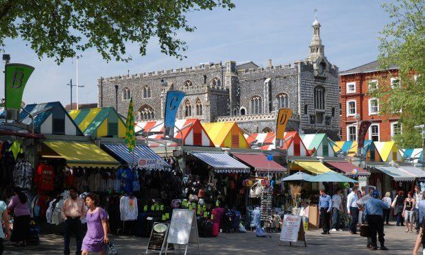 Norwich Market (Alamy)