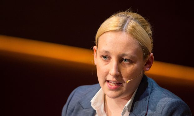 SNP MP Mhairi Black (Dominic Lipinski/PA Wire)