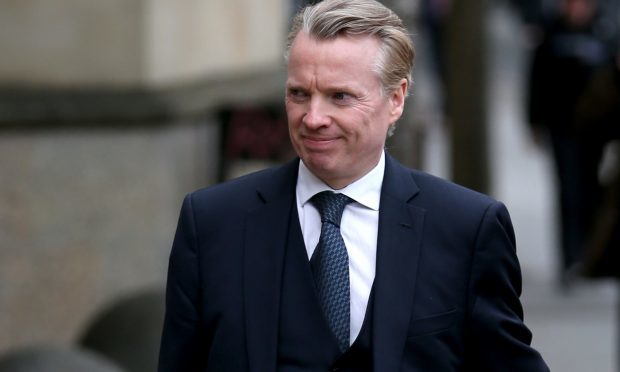 Craig Whyte arrives at the High Court in Glasgow, the former Rangers owner is on trial accused of acquiring the club fraudulently in May 2011. (Jane Barlow/PA Wire)
