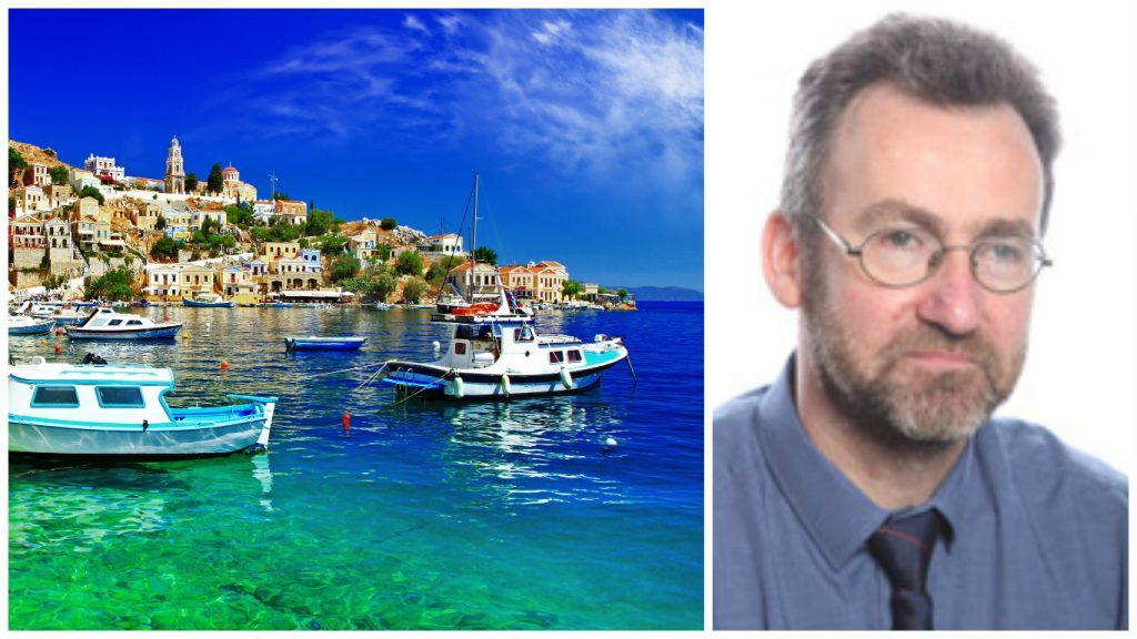 Orkney Islands Council convenor Steven Heddle made repeated trips to conferences abroad, including to the Greek islands – while the authority struggled with a £12 million funding gap.