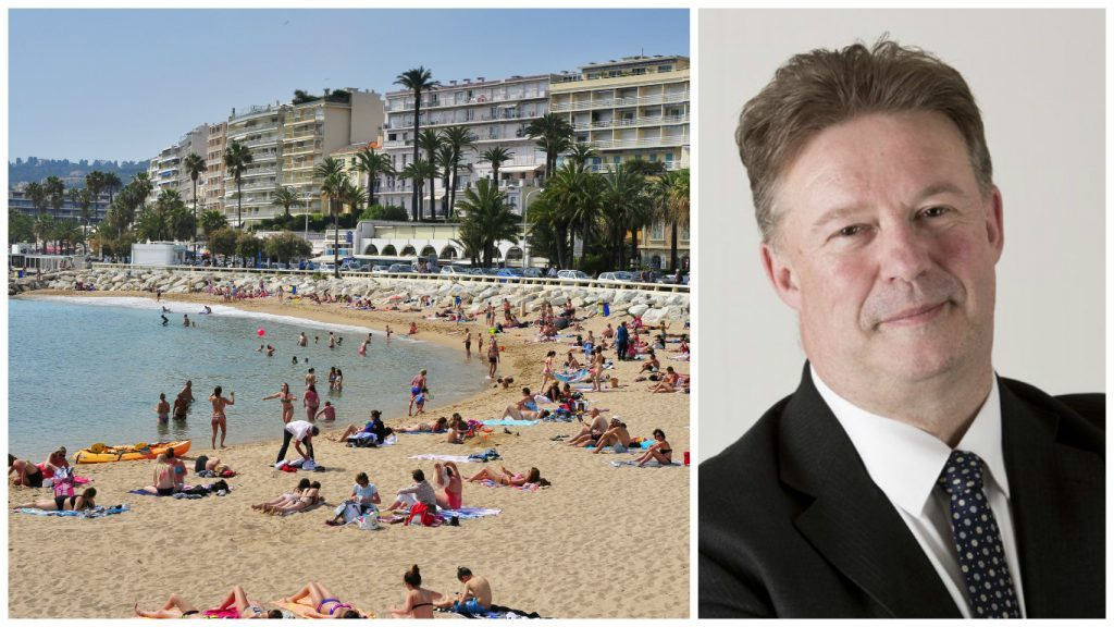 Edinburgh Council sent chief executive Andrew Kerr on £4000 trip to the French resort – on same day it emerged 500 staff were taking voluntary redundancy.