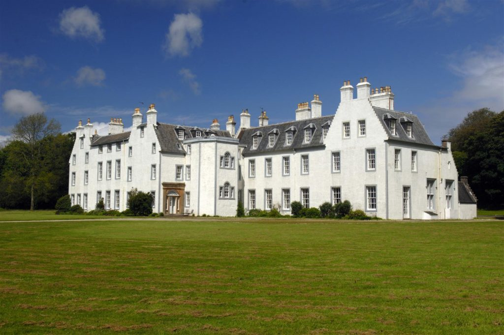 (Mike Merritt) One of the largest houses in the Hebrides - currently home to just one man - has had its price slashed by more than £1m. Islay House at Bridgend on Islay is described as one of Scotland's most magnificent mansion houses and sits in 28 acres of mature grounds with a superb outlook down Loch Indaal and out to sea. The 24-bedroom Category A listed house is home to former American Navy pilot Captain Tom Friedrich, who first put it on the market for around £2.25m in 2007. But after failing to sell, Knight Frank has now marketed the property at £850,000.
