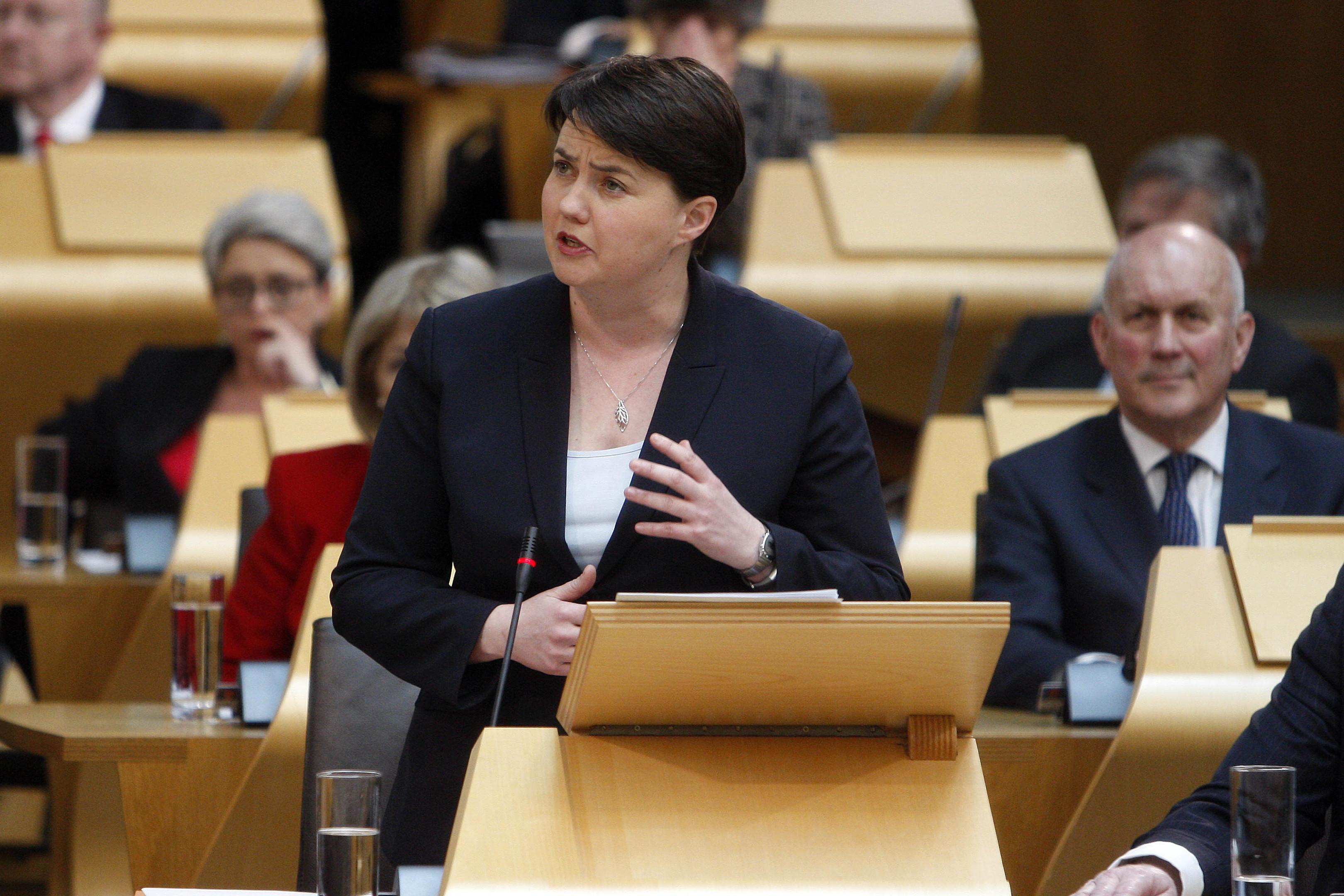 Scottish Conservative leader Ruth Davidson MSP (Andrew Cowan/Scottish Parliament)