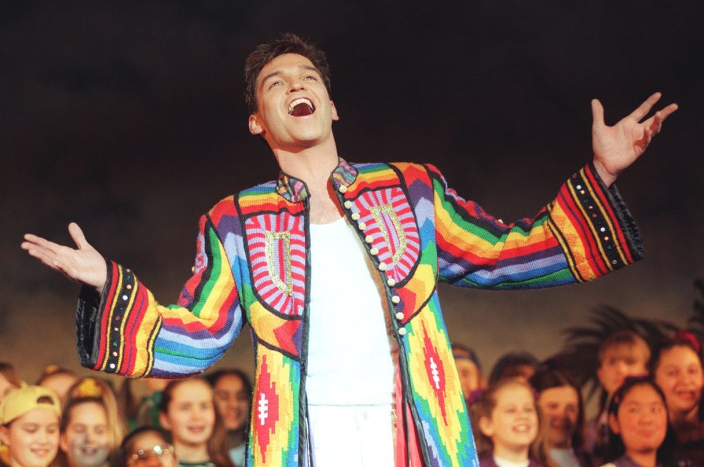 Phillip in Joseph and the Amazing Technicolour Dreamcoat (PA Archive)