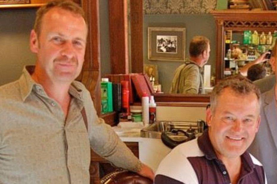 Paul Burrell and Graham Cooper
