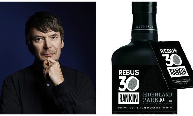 Ian Rankin chose the cask for the single malt
