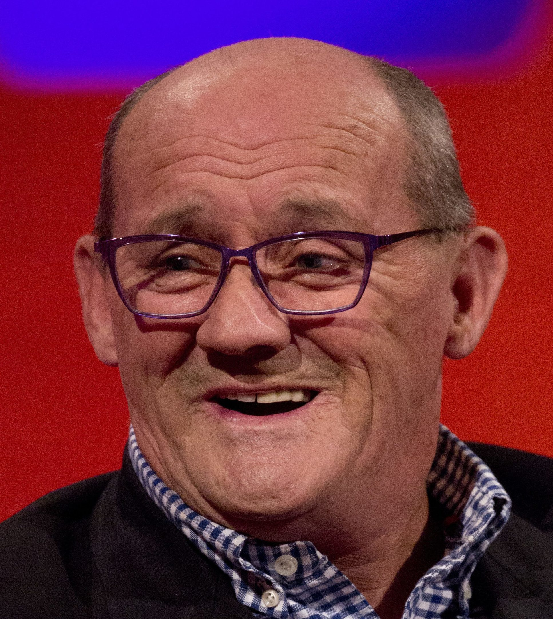 Brendan O'Carroll during the filming of the Graham Norton Show (PA Images on behalf of So TV)