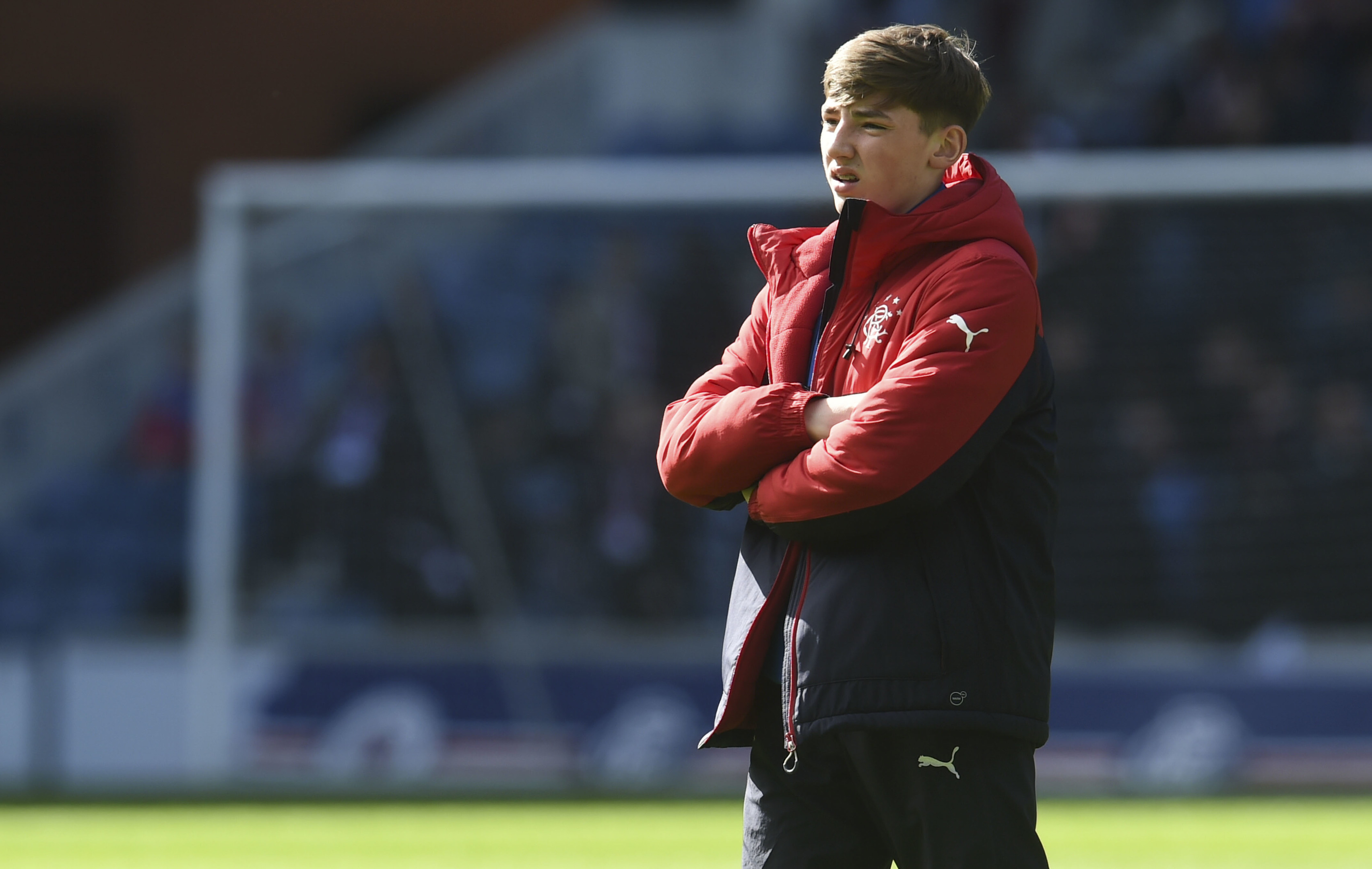Rangers' Billy Gilmour (SNS Group)