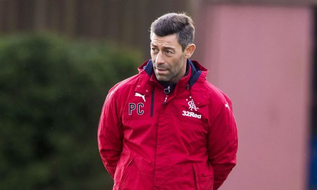 Rangers manager Pedro Caixinha at training (SNS Group)