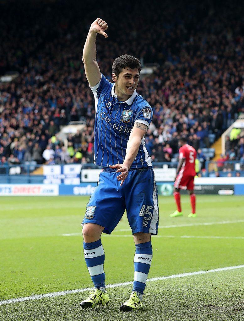 Sheffield Wednesday's Fernando Forestieri (Danny Lawson/PA)