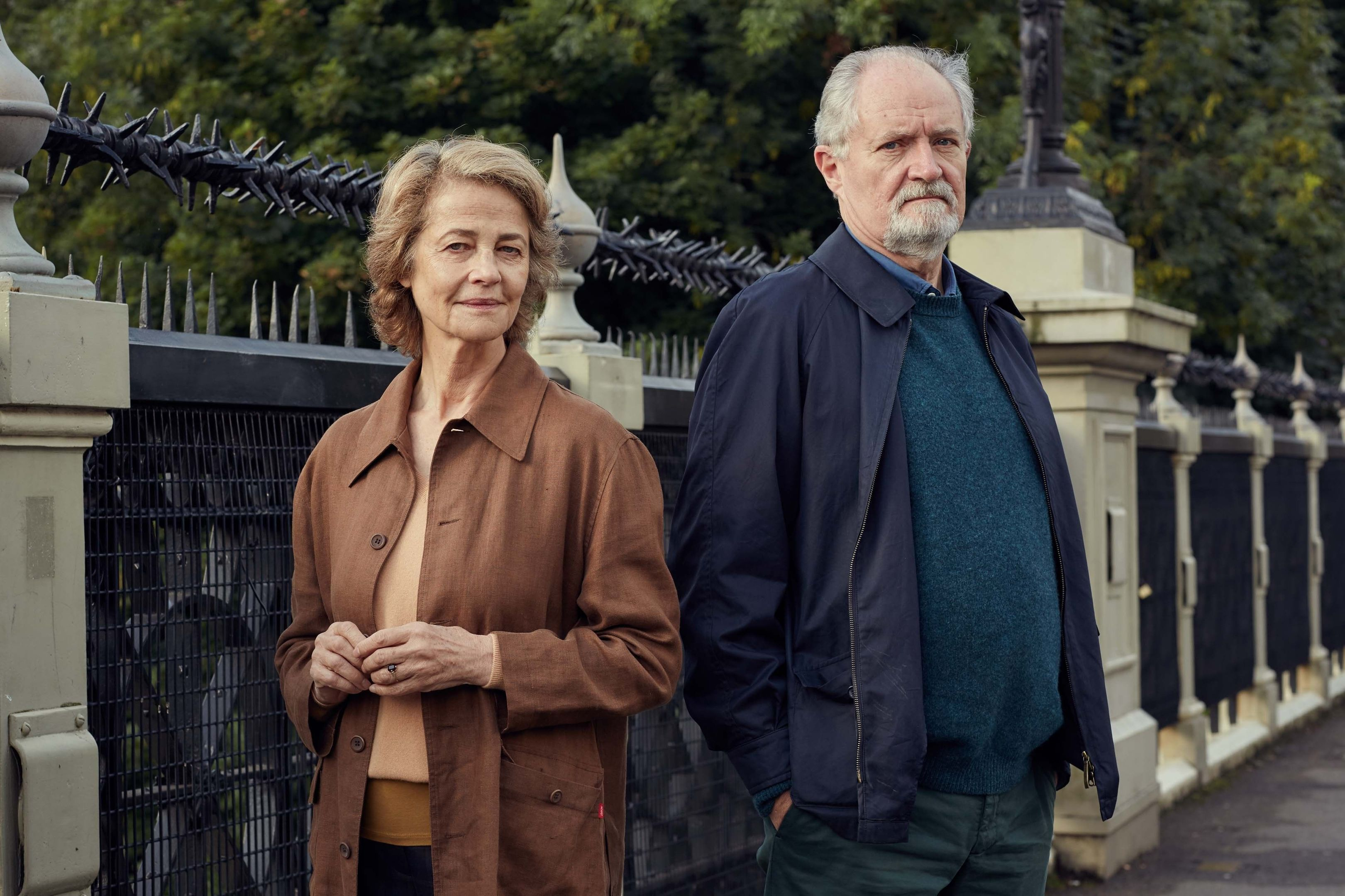 Charlotte Rampling and Jim Broadbent star in The Sense of an Ending (PA Photo / StudioCanal)