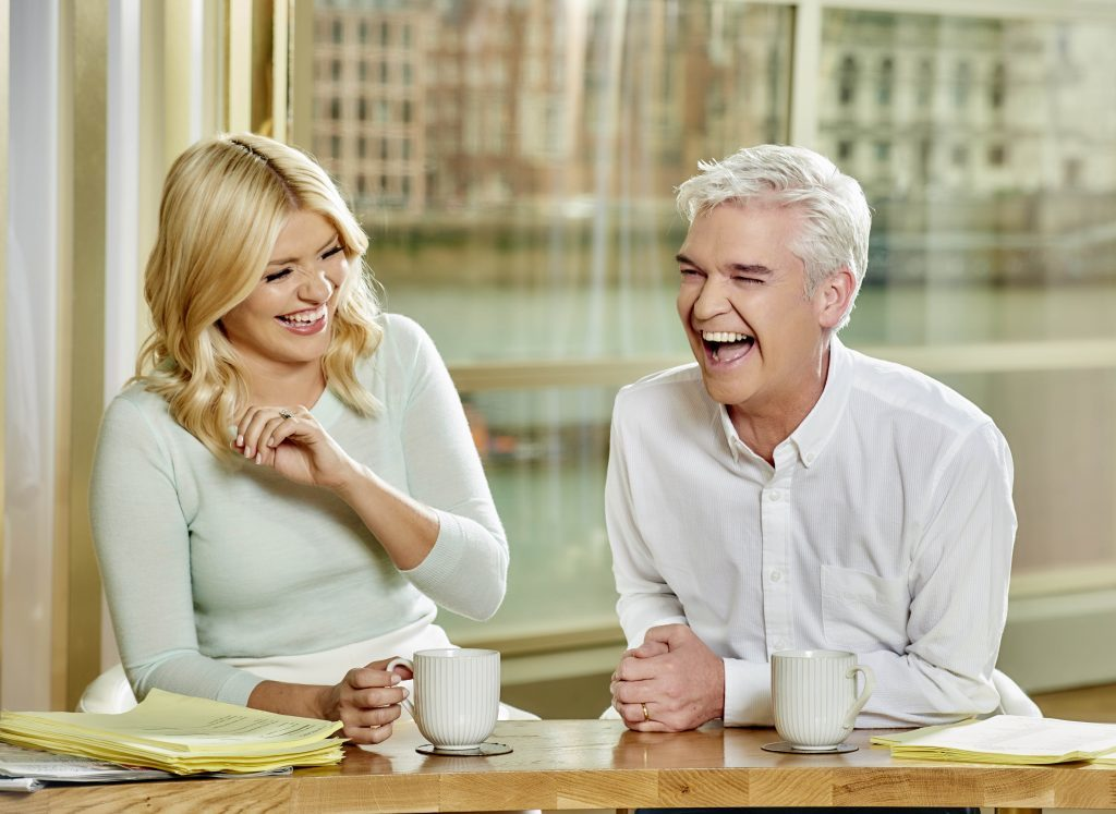 With This Morning co-star Holly Willoughby (ITV)