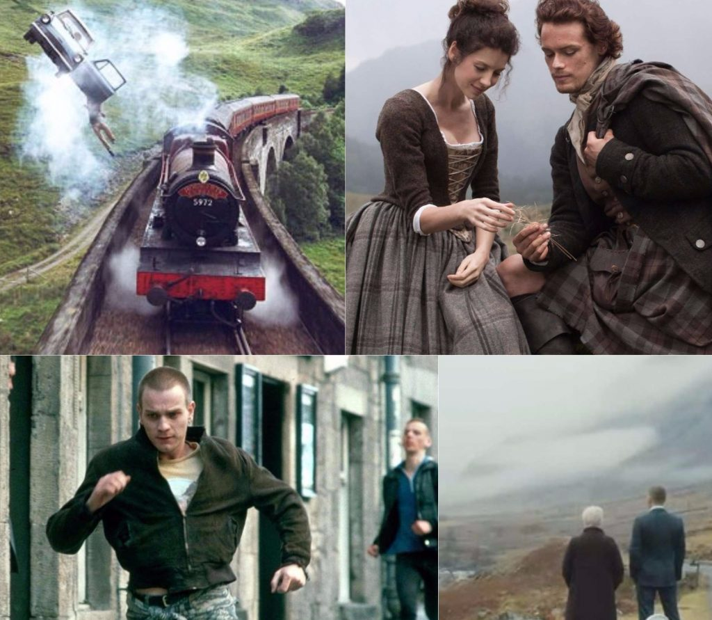 Filming locations Scotland