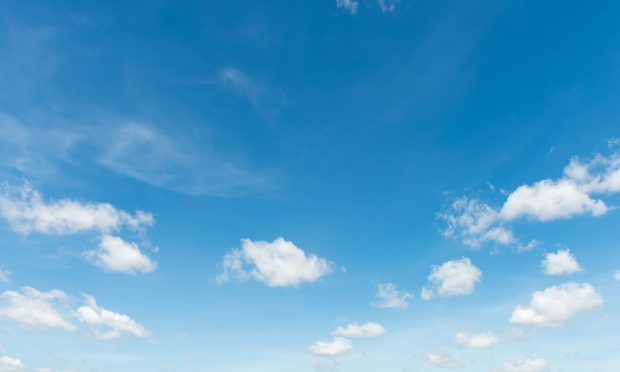 Blue sky will be spotted across the country this weekend... (Getty Images)