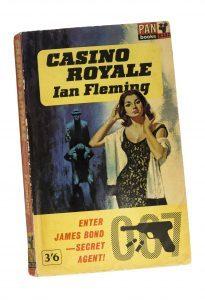 James Bond, Casino Royale Paperback by Ian Fleming (iStock)
