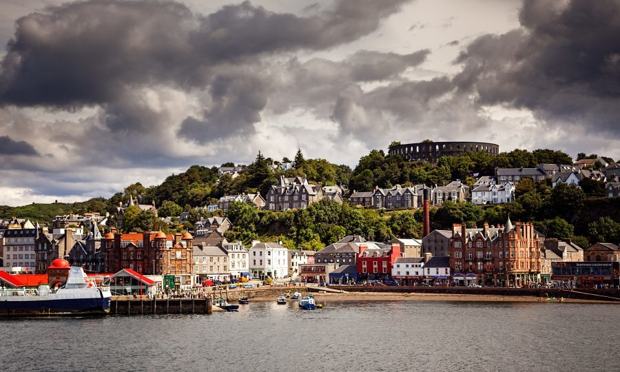 The port of Oban on the west coast of Scotland, UK. (iStock)
