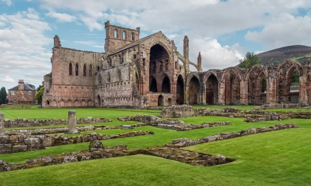 The ruins of Melrose Abbey (Getty Images)