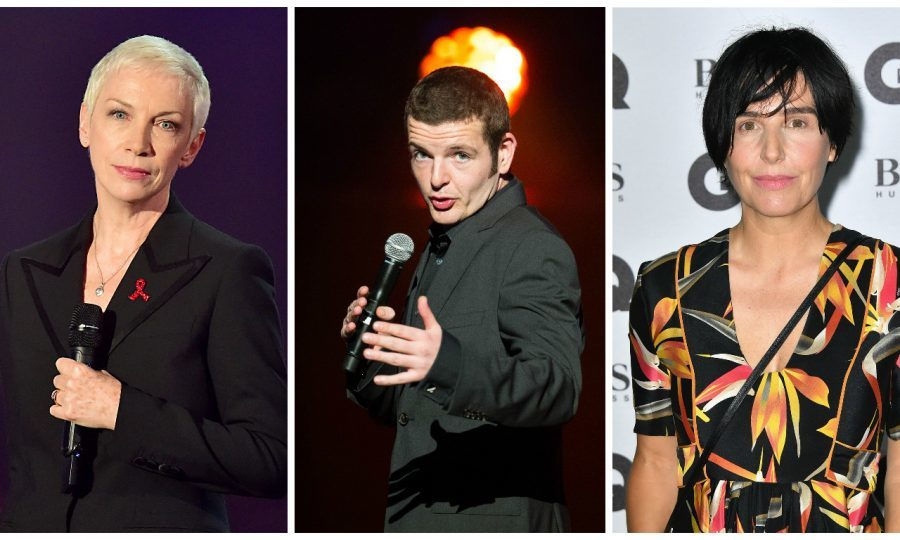 Scots stars are set to entertain the former President (Dominic Lipinski / PA Wire & Gareth Cattermole/Getty Images)