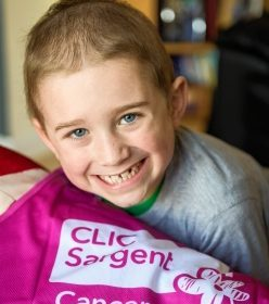 Danny Gallacher - Alison's son Danny has a form of leukaemia (Callum Mackay)