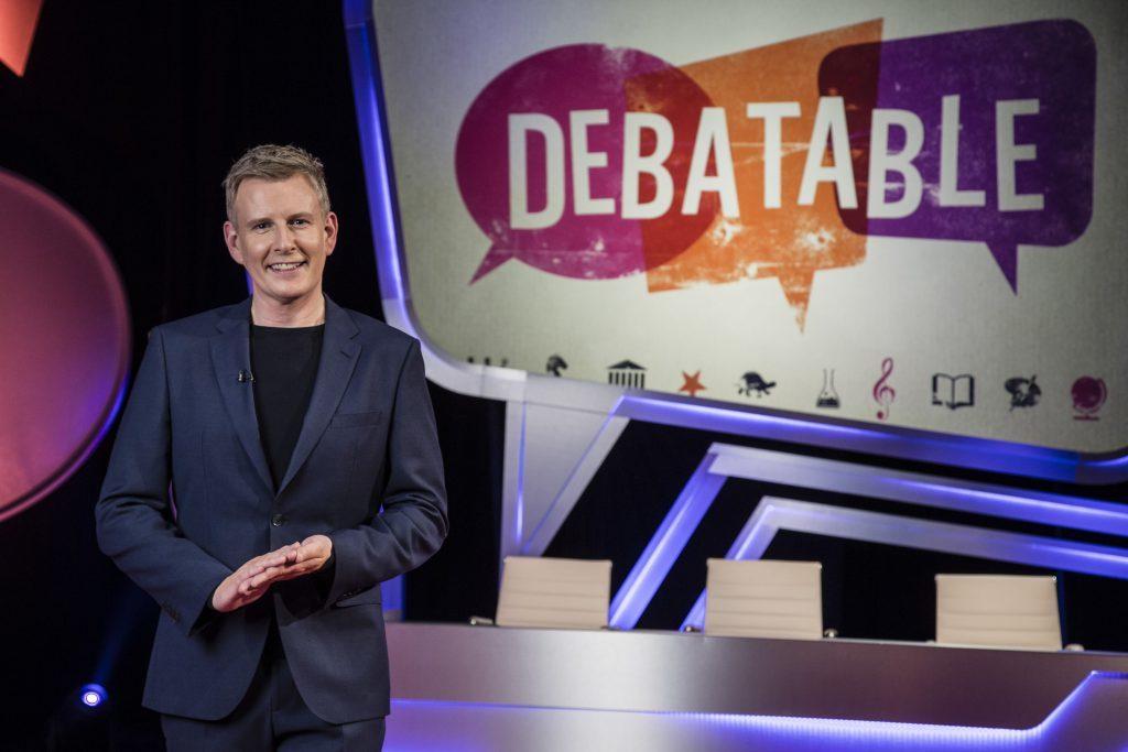 Patrick hosts new show Debatable (Hungry Bear Media / Paul Hepplewhite)