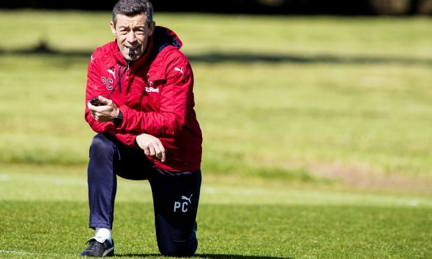 Rangers' manager Pedro Caixinha in training (SNS)