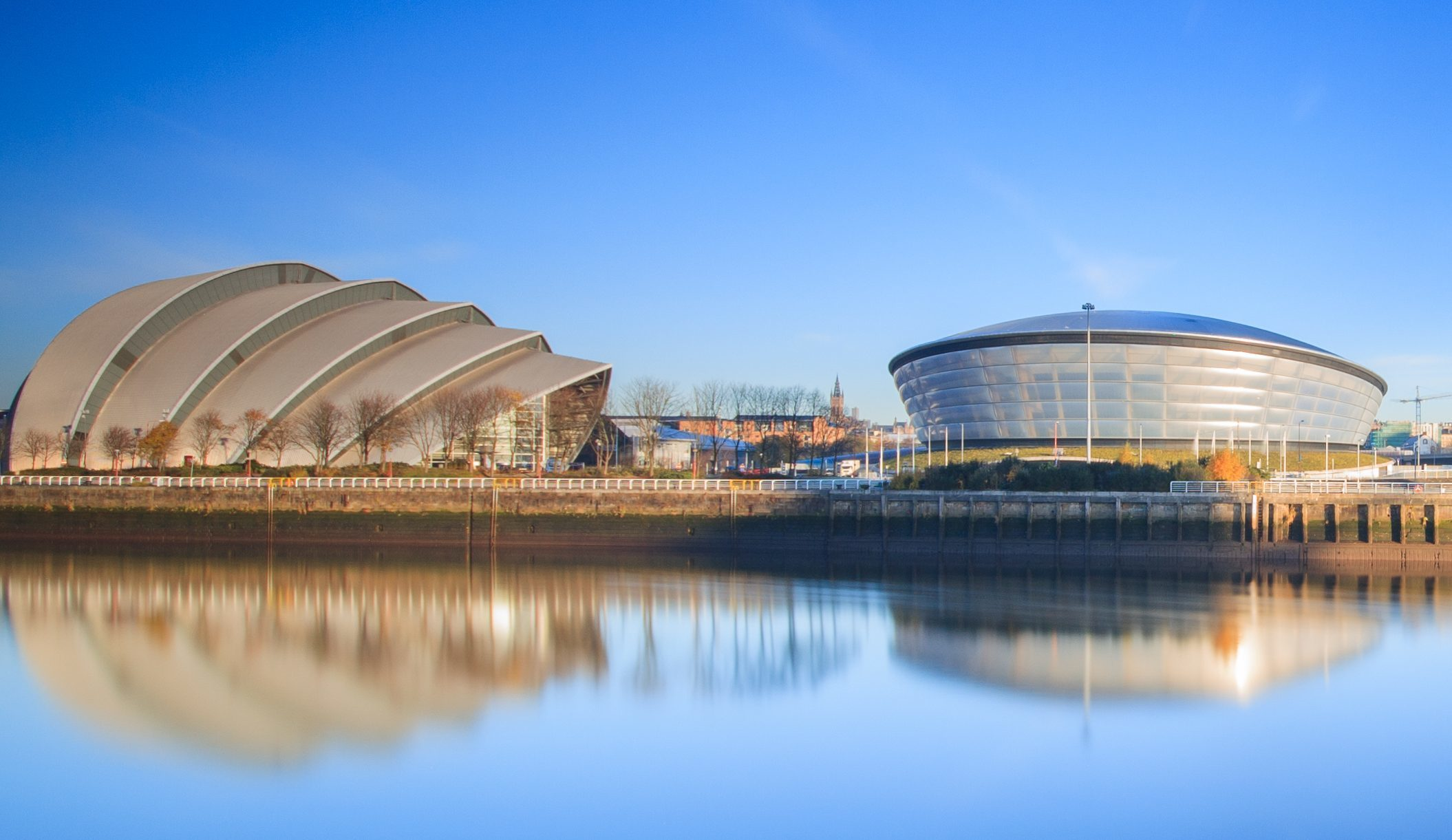 The Clyde Auditorium and SSE Hydro (Getty Images)