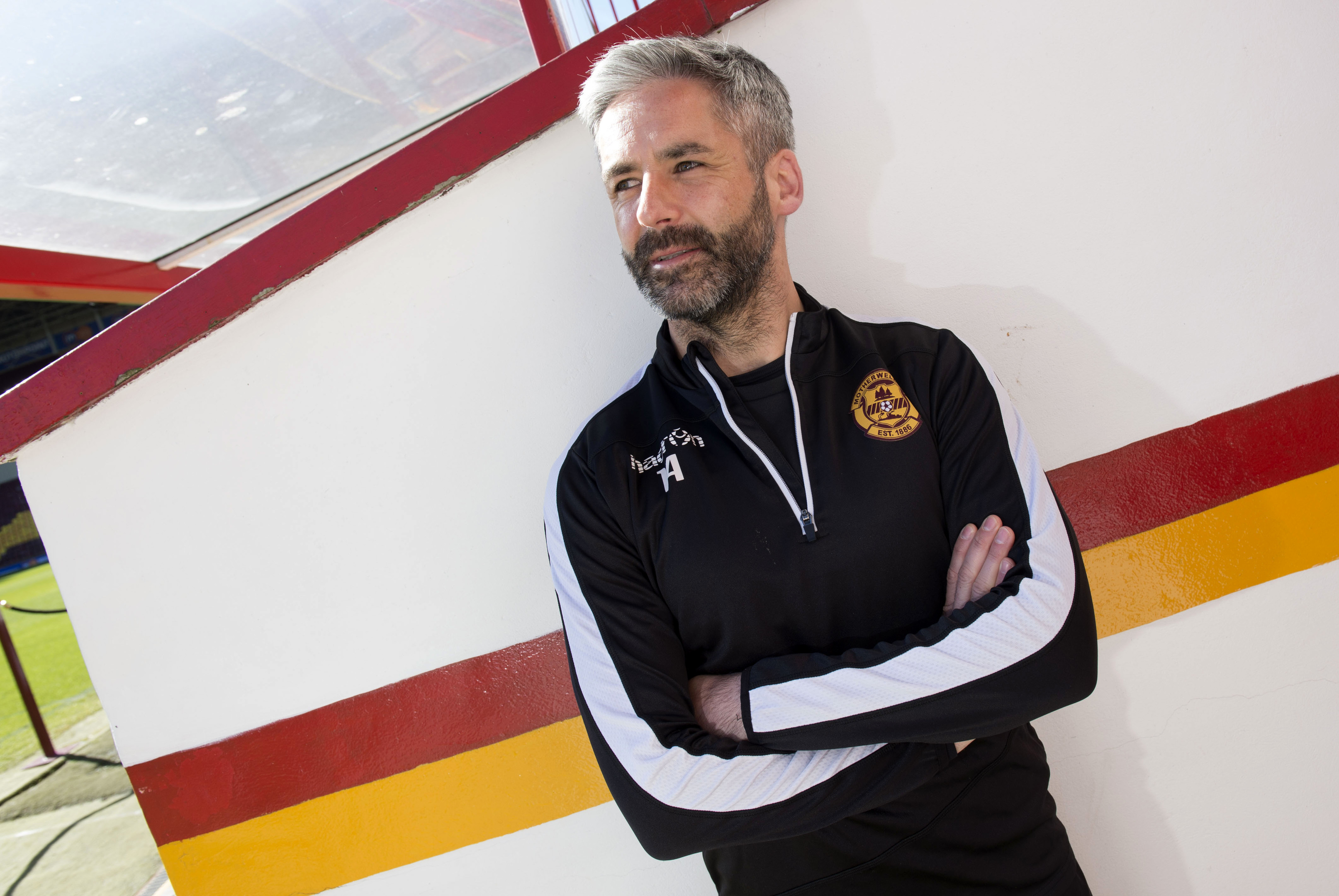 Motherwell captain Keith Lasley (SNS Group)
