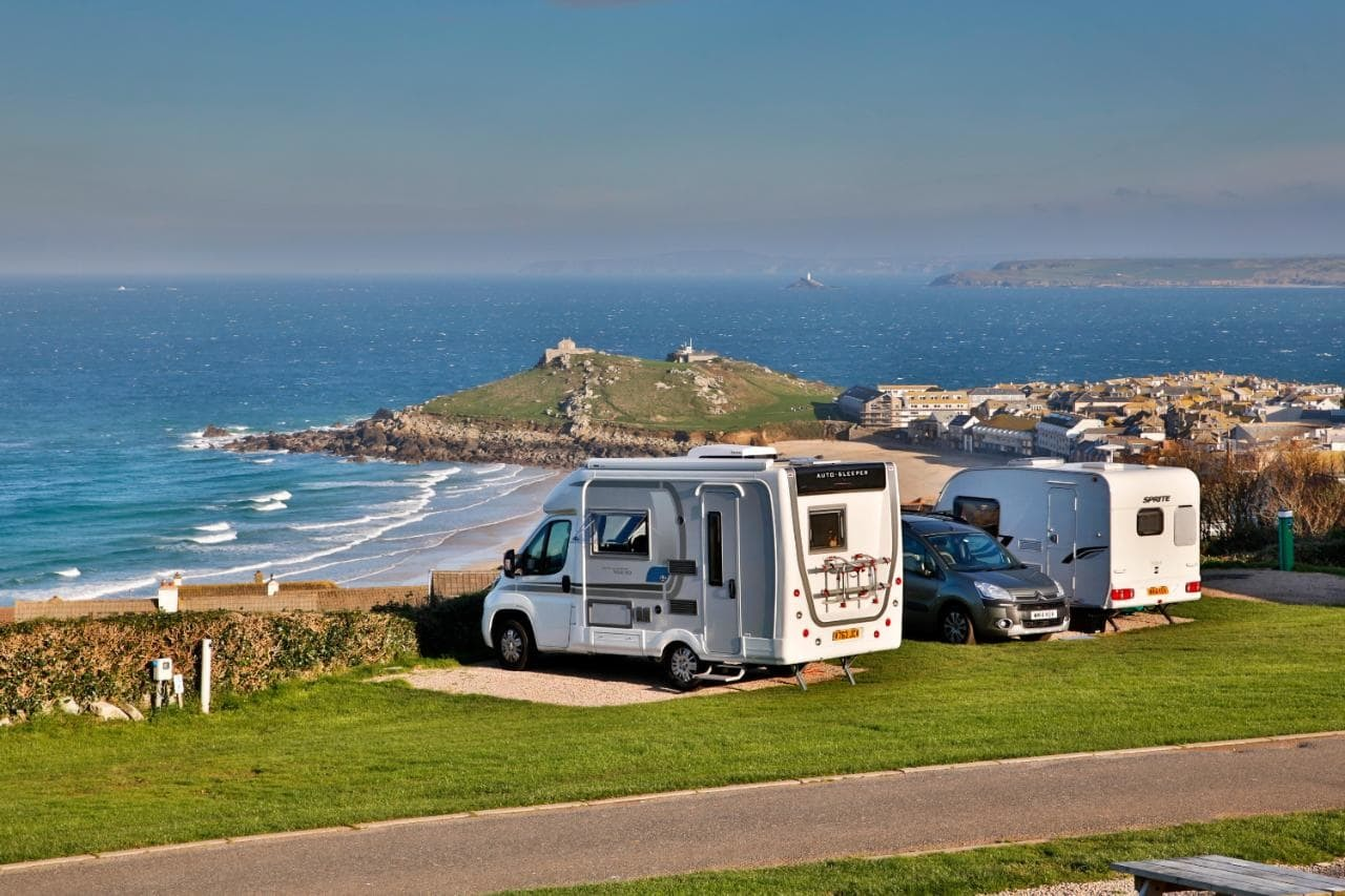 A trip in a motorhome is the idea summer holiday