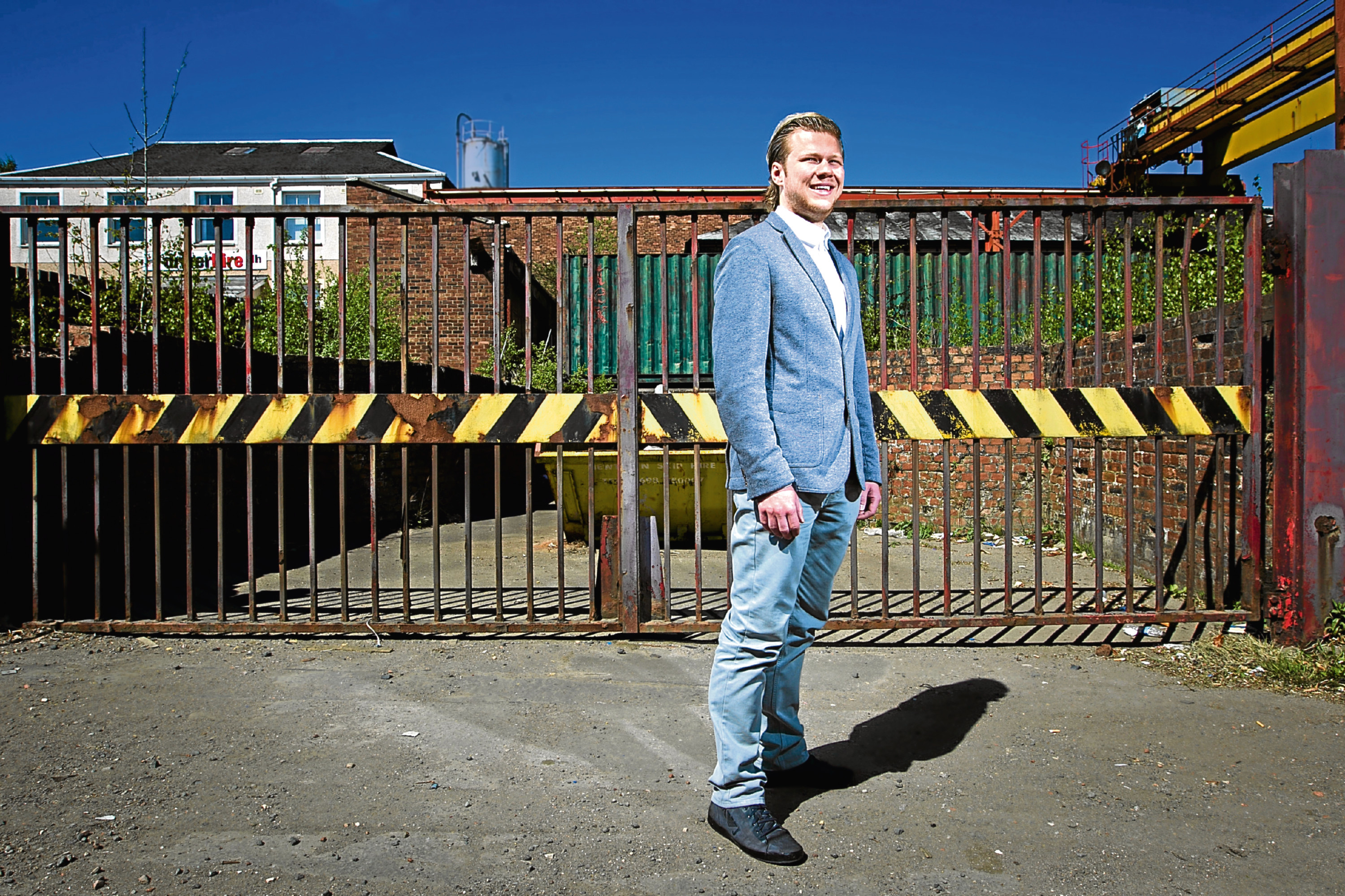 Conservative councillor Nathan Wilson (Andrew Cawley / DC Thomson)