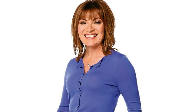 Sunday Post columinist Lorraine Kelly (ITV / Tony Ward)