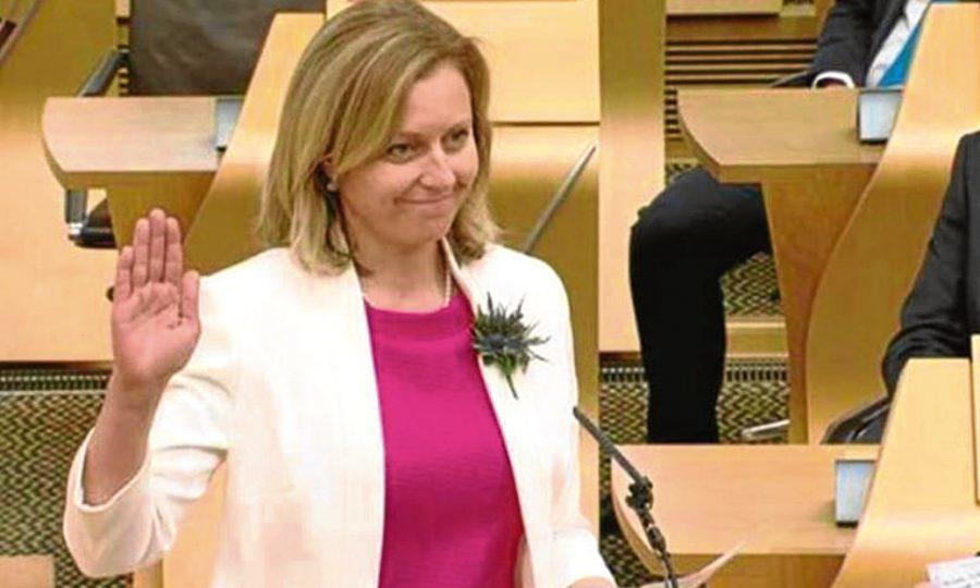 Conservative candidate Rachael Hamilton