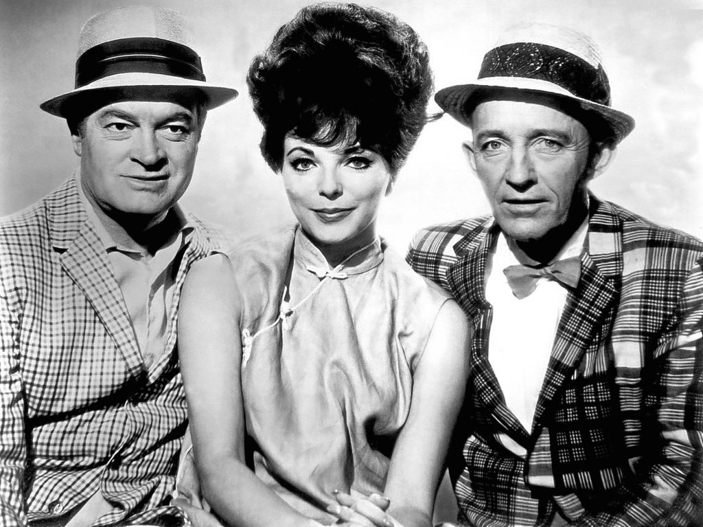 Starring alongside Bob Hope and Bing Crosby in 1962's The Road to Hong Kong (Allstar)