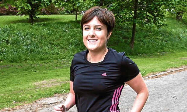 Mandie Stevenson was diagnosed with terminal breast cancer (Chris Austin / DC Thomson)