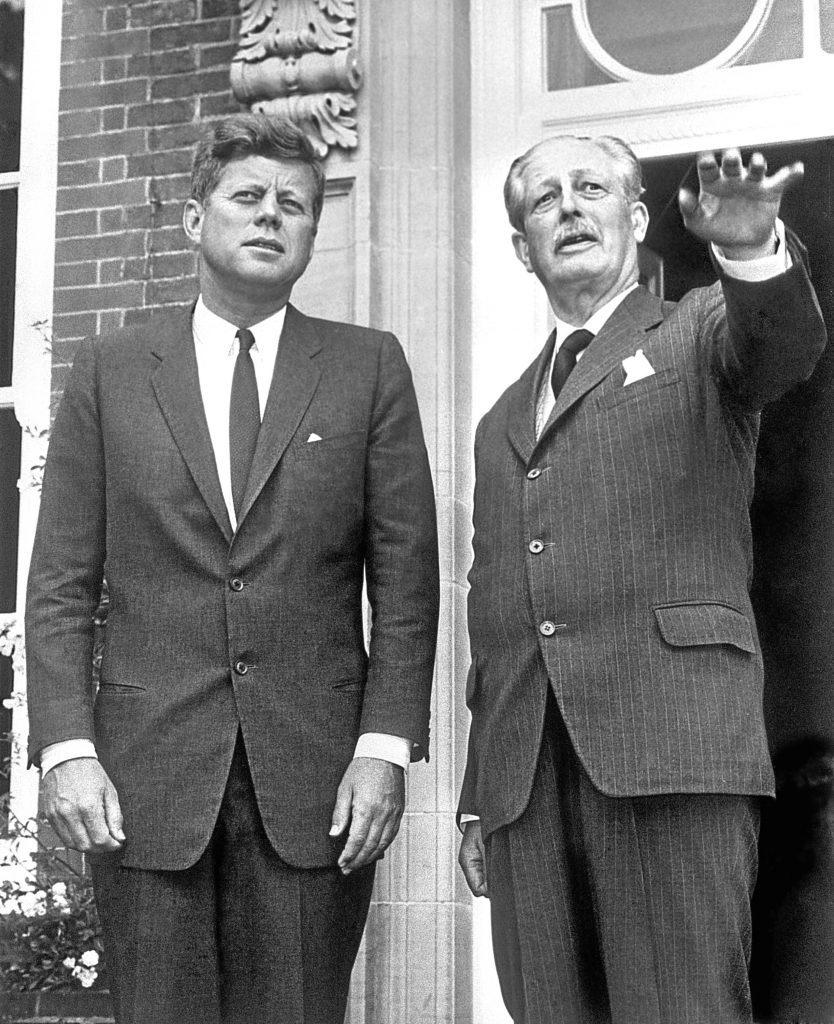 JFK with Harold Macmillan
