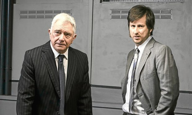 Martin Shaw and Lee Ingleby star in George Gently (Company Pictures / Mark Mainz)