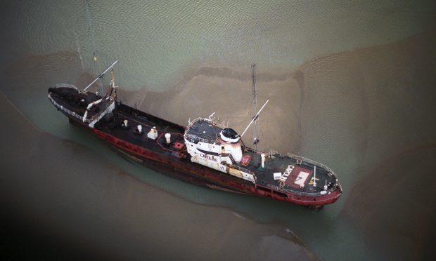 The Radio Caroline ship, the Ross Revenge (PA Archive)
