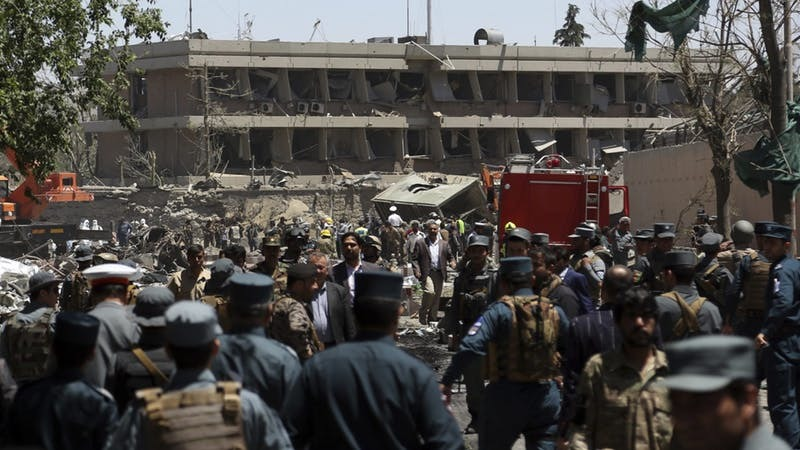 9 local guards dead, 11 Americans wounded in Kabul