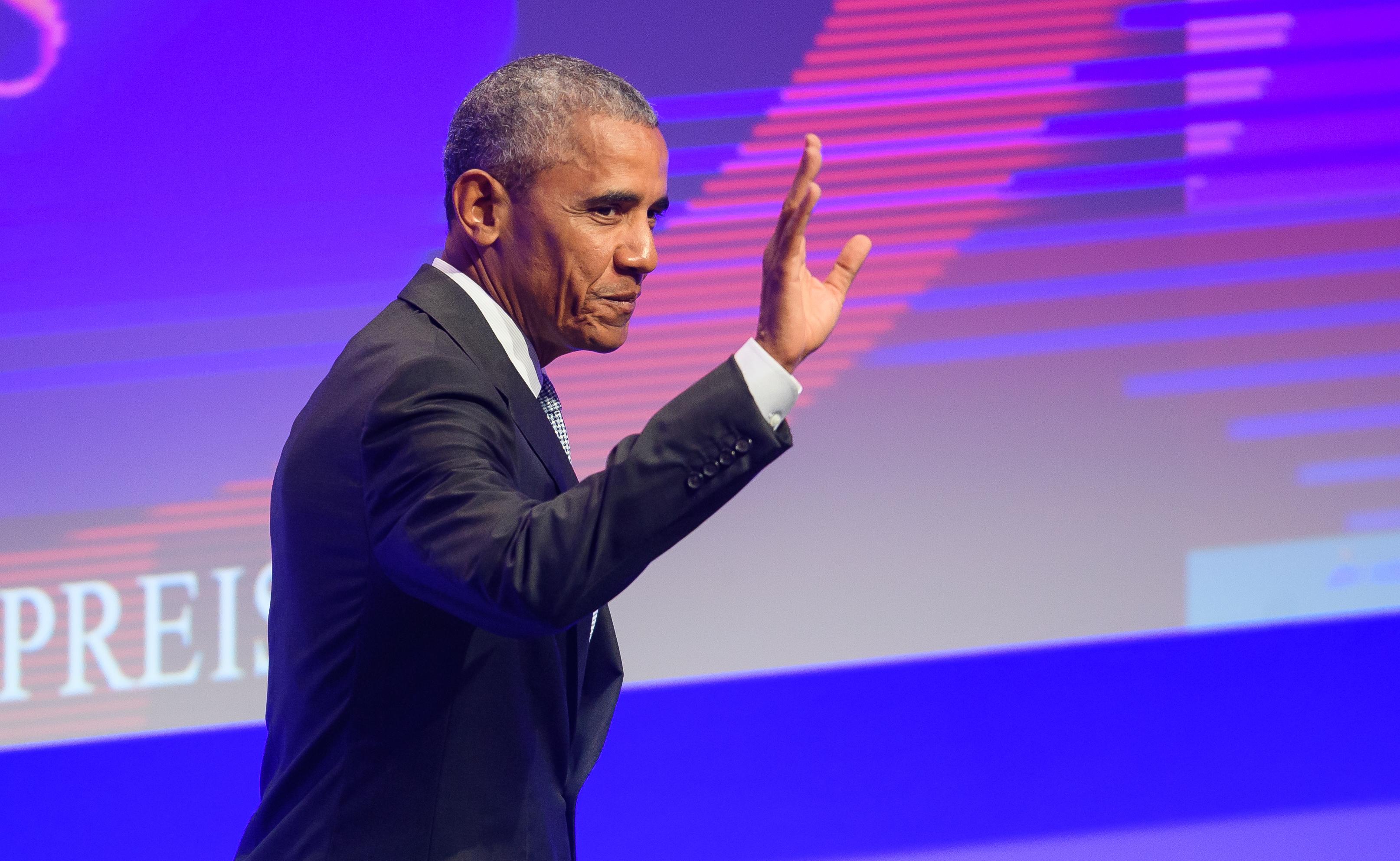 Former US president Barack Obama (Alexander Scheuber/Getty Images)