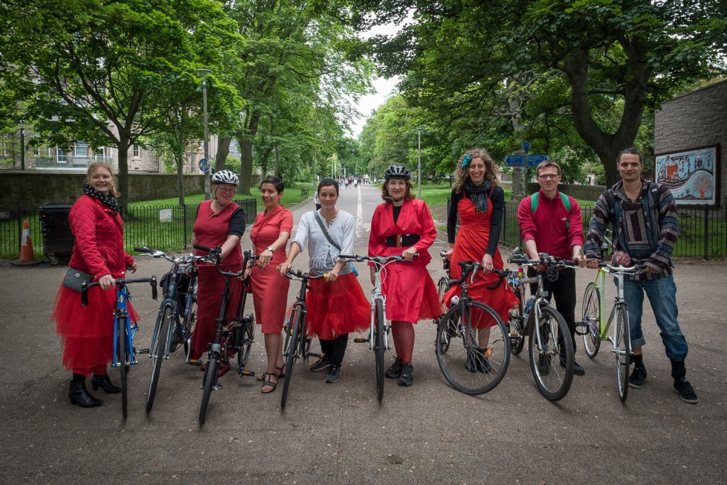 Cycle Flâneur - Edinburgh Festival of Cycling - Sun 19 June 2016 - The Meadows, Edinburgh (photographer Andy Catlin • www.andycatlin.com)