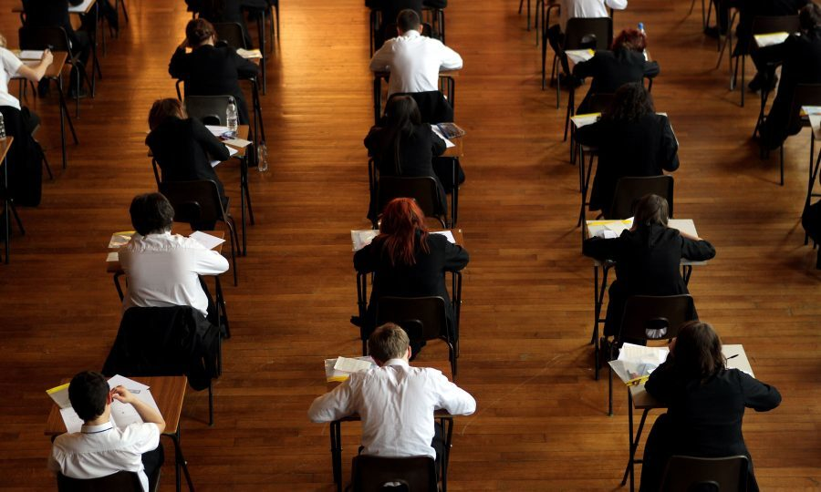 Thousands of children are turning to Childline due to exam stress