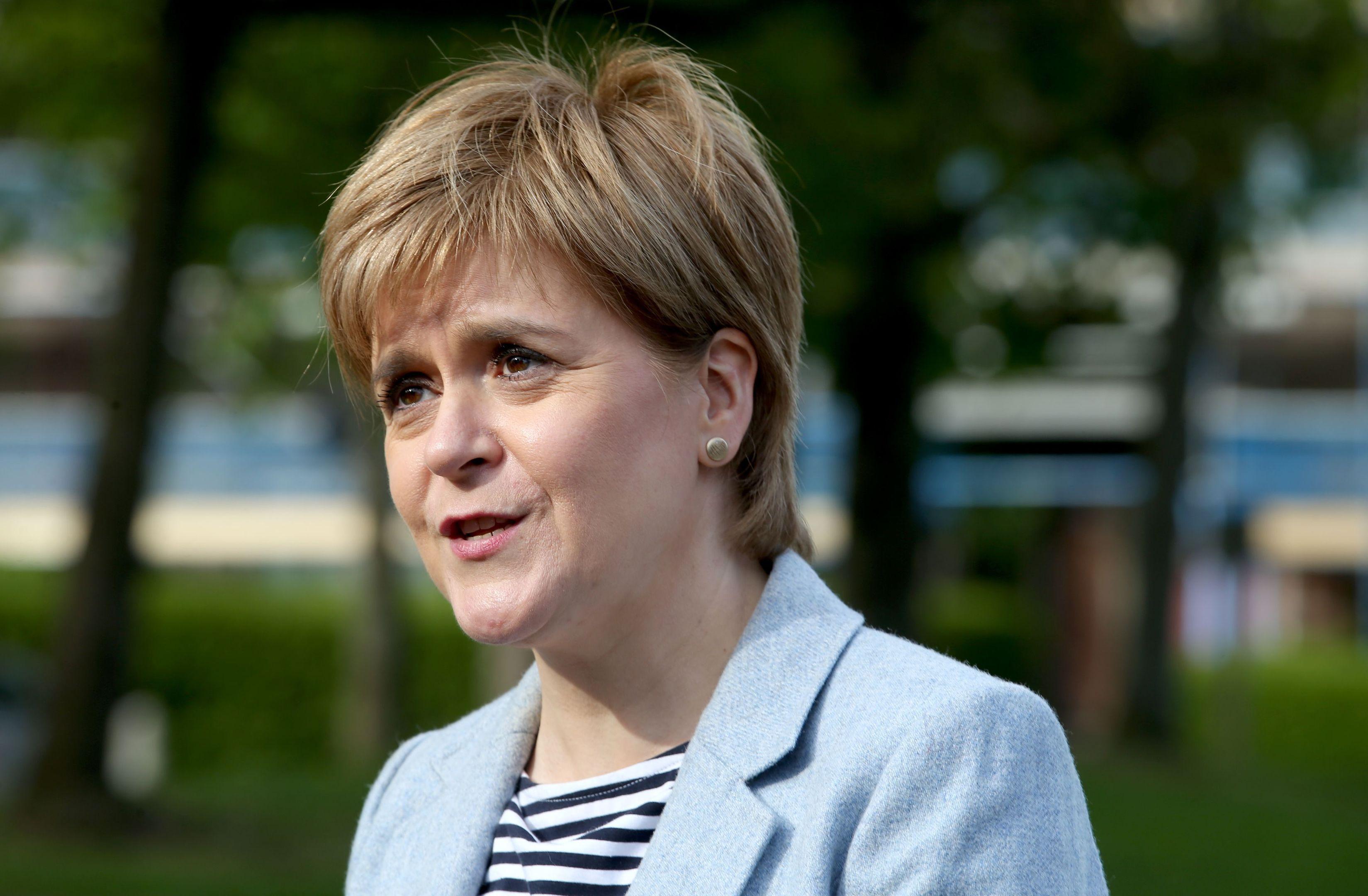 Nicola Sturgeon backs Girlguiding campaign after survey ...
