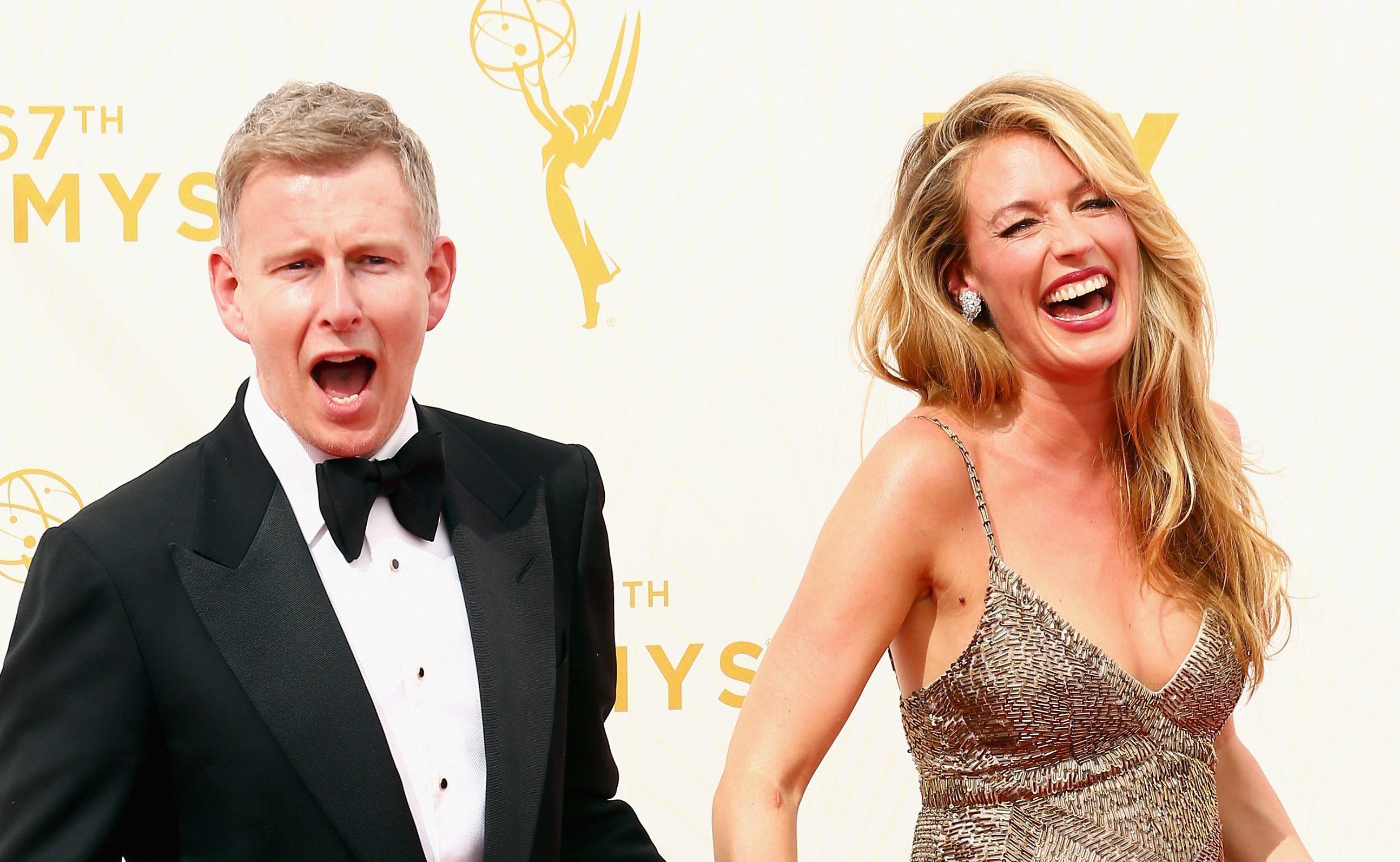 Patrick Kielty and wife Cat Deeley (Mark Davis/Getty Images)